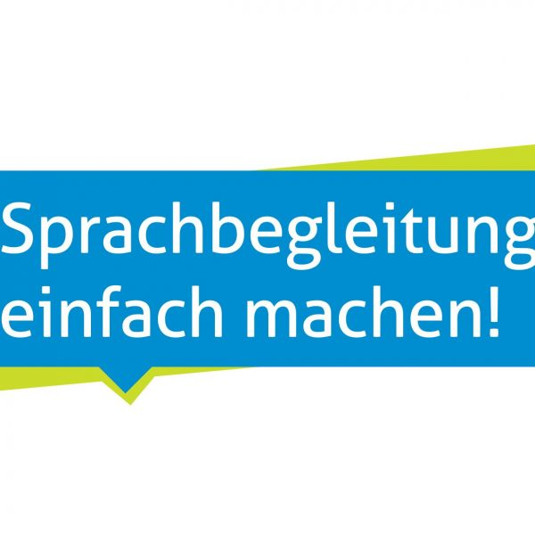 16 Bert 014 Badge Sprachbegleitung Quadratisch